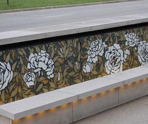 JW Marriott Terrazzo Wall