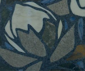 JW Marriott terrazzo flower