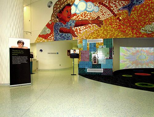 DeVos Children's Hospital terrazzo