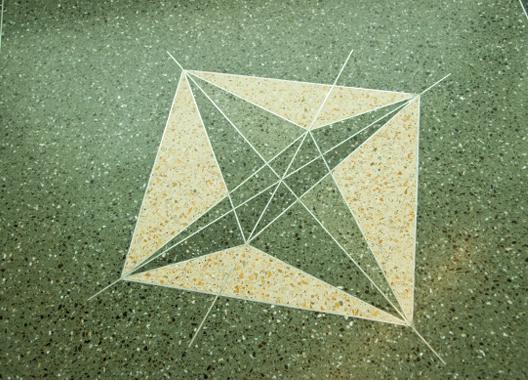 Silverman Hall Terrazzo Molecule