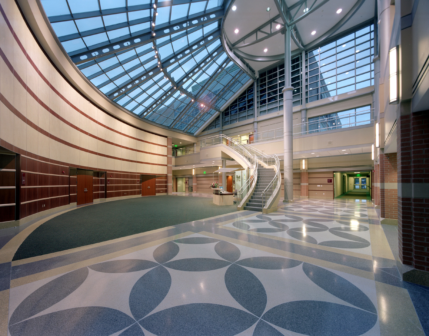 Terrazzo Transforms Educational Center