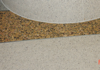 University of Michigan terrazzo
