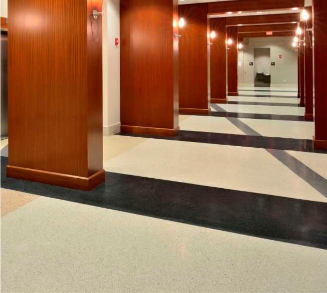 Franklin County terrazzo flooring