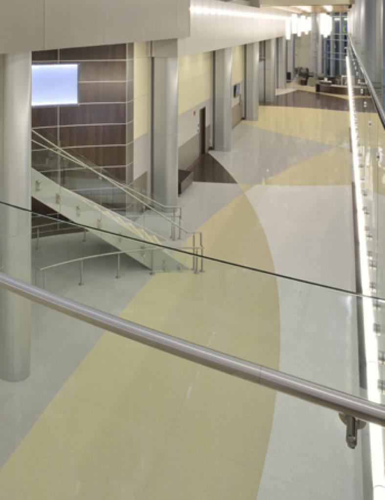terrazzo flooring design samson health pavilion
