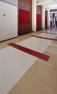 terrazzo flooring design wc reavis elementary school