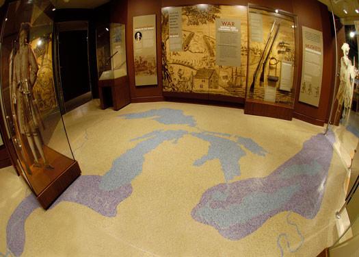 terrazzo flooring design frazier history museum louisville kentucky