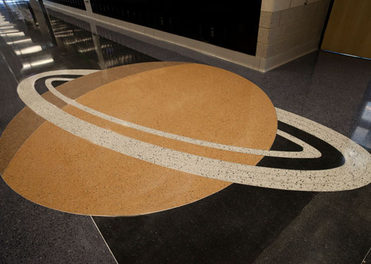 terrazzo flooring design west ridge elementary school