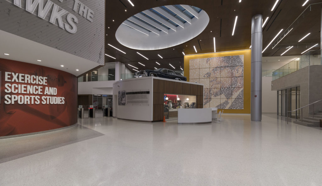 terrazzo flooring design malcolm x college chicago