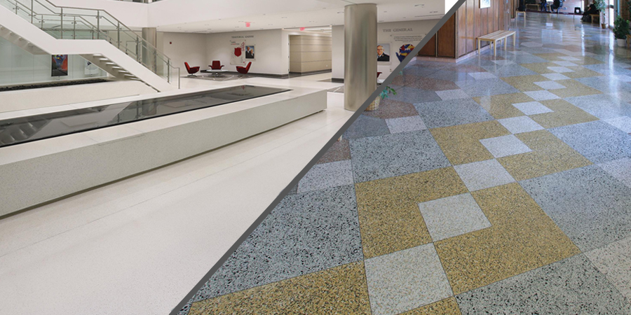 Epoxy Terrazzo or Cement Terrazzo: What's the difference?