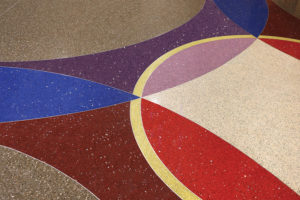 Grand Victoria Casino Terrazzo Design